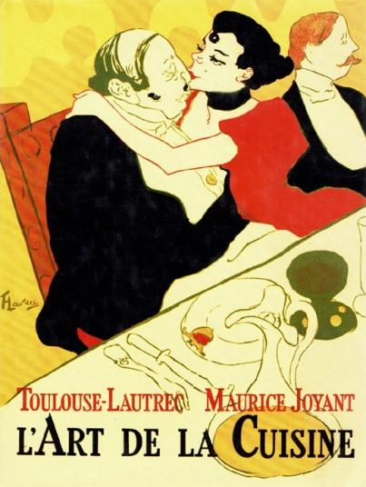"""Toulouse-Lautrec, Maurice Joyant """"L'Art de la Cuisine"""""""