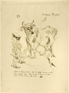 invitation to a glass of milk 1897 lithograph