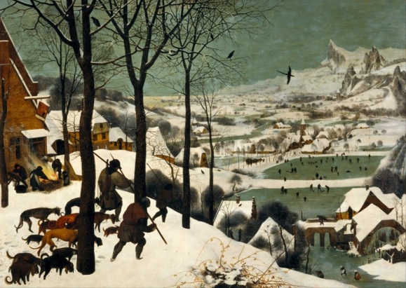 Pieter Bruegel the Elder, Hunters in the Snow, 1565