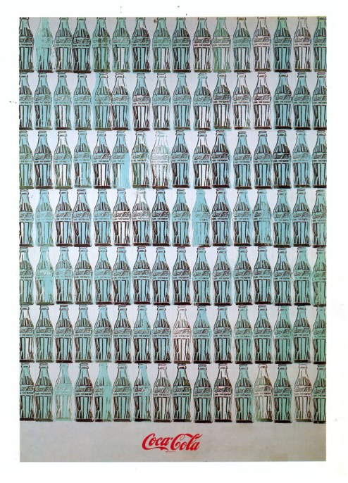 andy warhol Green coca cola bottles 1962 oil on canvas