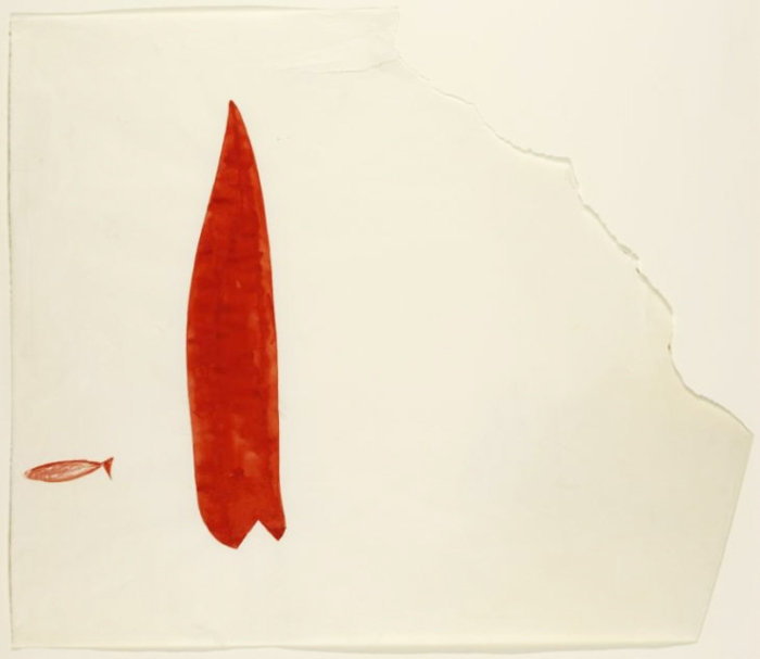 Two Red Fish 1954 by Joseph Beuys 1921-1986