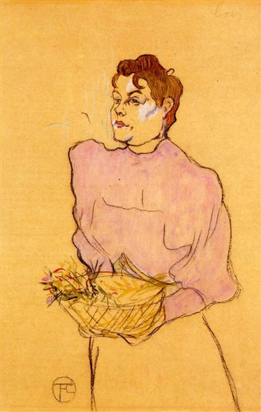 Henri Toulouse Lautrec The Flower Seller 1894